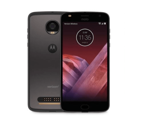 Motorola shows off Moto Mods alongside a Moto Z2 Force