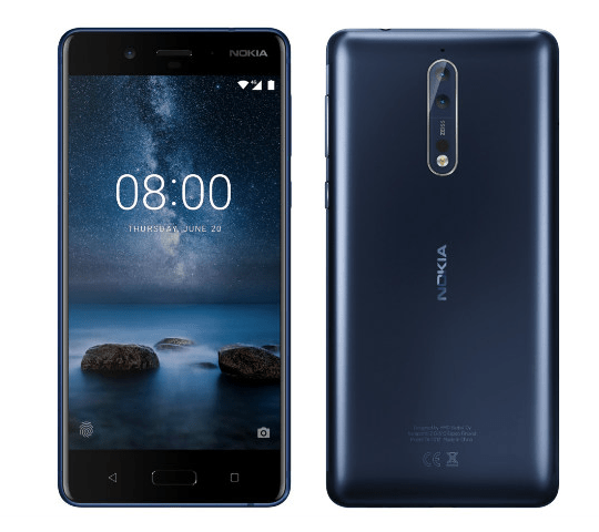 Nokia 8 Spotted on GFXBench reveals Key Specifications