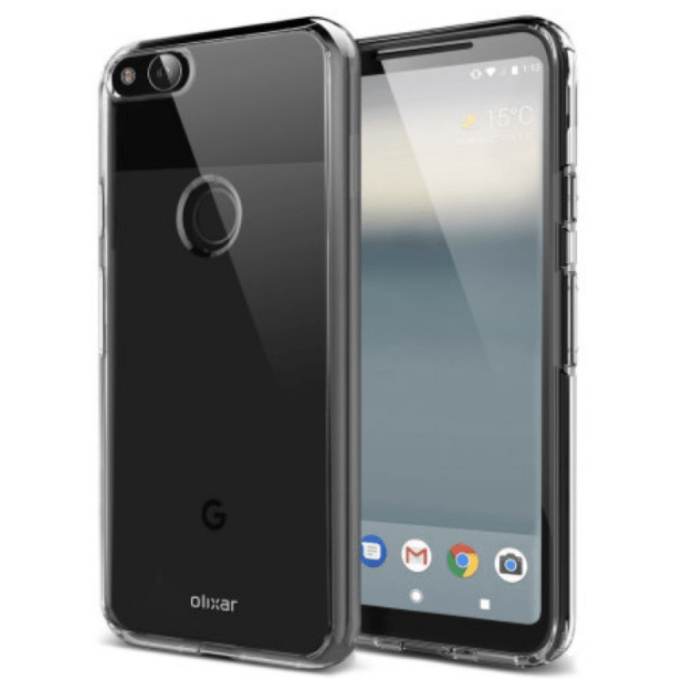 This is the 2017 Google Pixel with large bezels