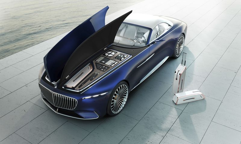 Quick look at new Mercedes-Maybach 6 Cabriolet