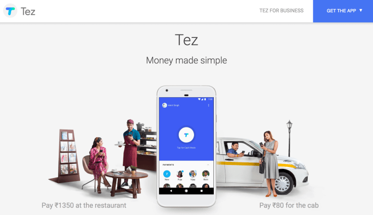 Google Launched 'Tez' Payment App Based on UPI for India