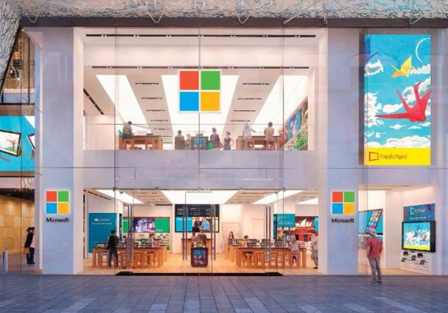 Microsoft may be soon launching the first UK-based retail store