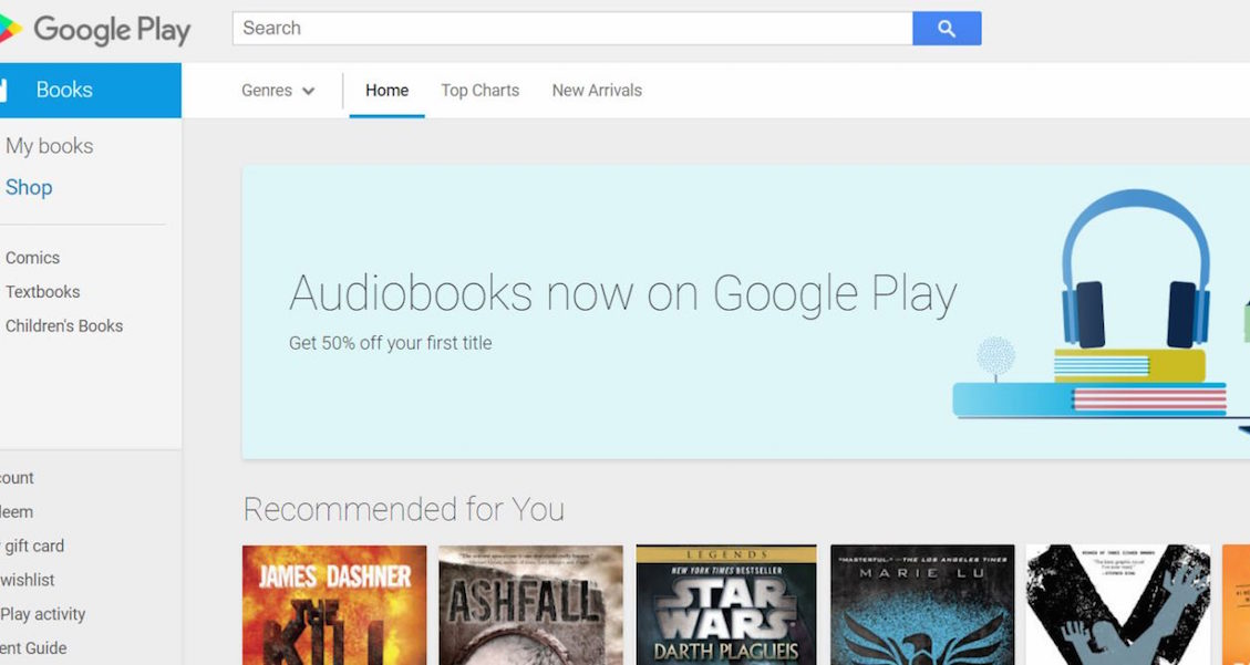 Play Store May Soon Have Dedicated Audiobook Section