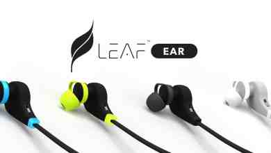 Leaf ear wireless bluetooth earphones
