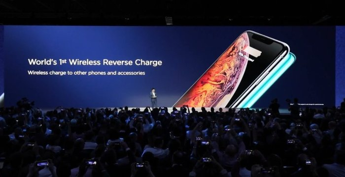 Huawei reverse wireless charger, Reverse wireless charging device