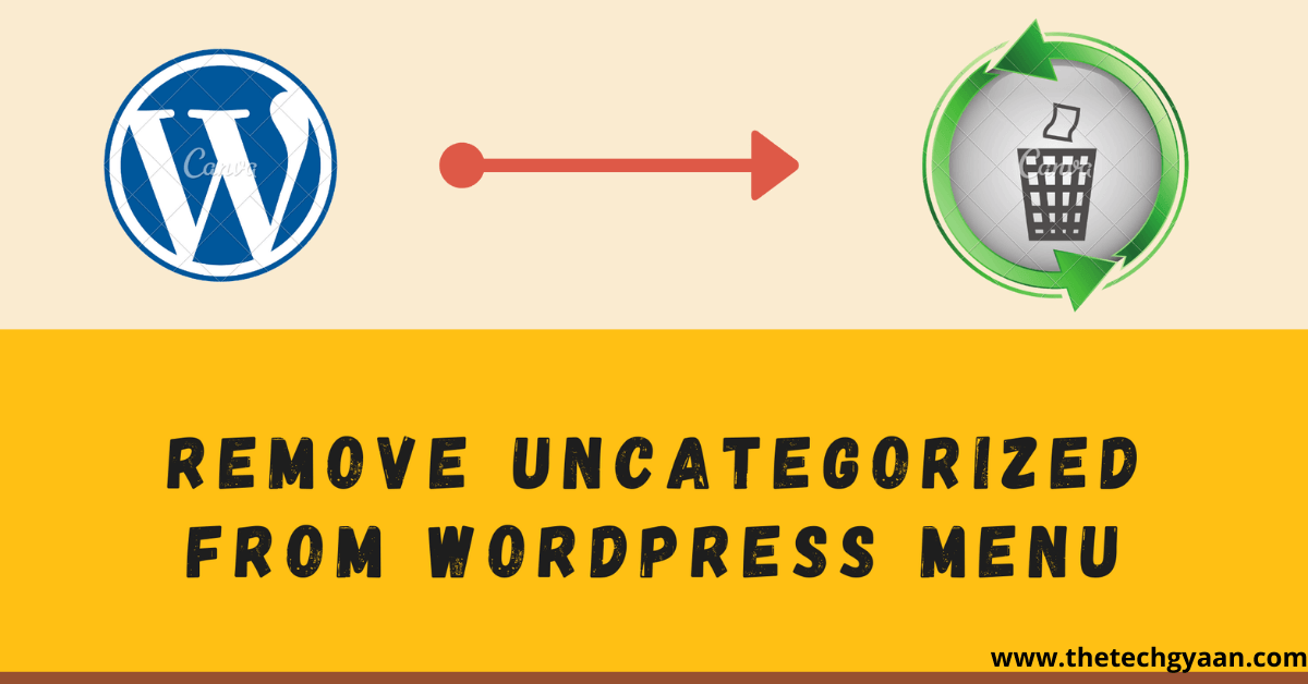 Remove Uncategorized from WordPress