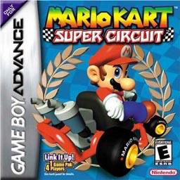 Best GBA Games Mario Kart Super Circuit