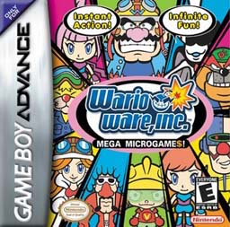 Best GBA Games Wario Ware Inc Mega Microgames