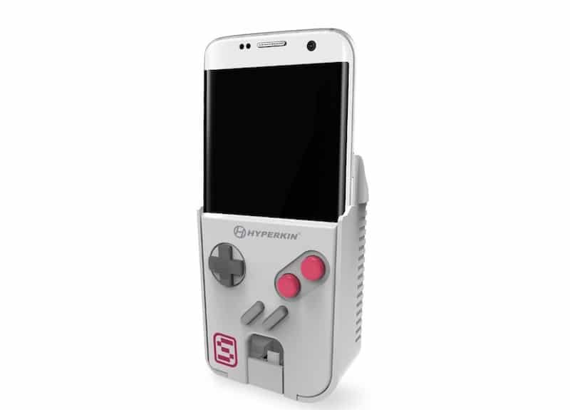The Smart Boy, which turns your phone into a Game Boy. Pic: Hyperkin