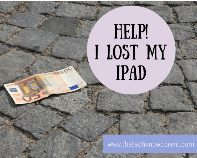 Find your lost iPad