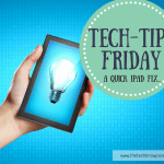 Tech-Tip Friday – How to speed up your iPad