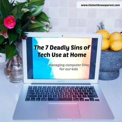 7 deadly sins of technology use at home