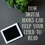 How digital books can help your child to read!