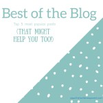 Best of the blog – our top 5 posts