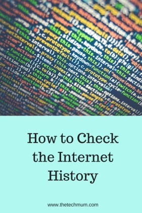 How to Check The Internet History