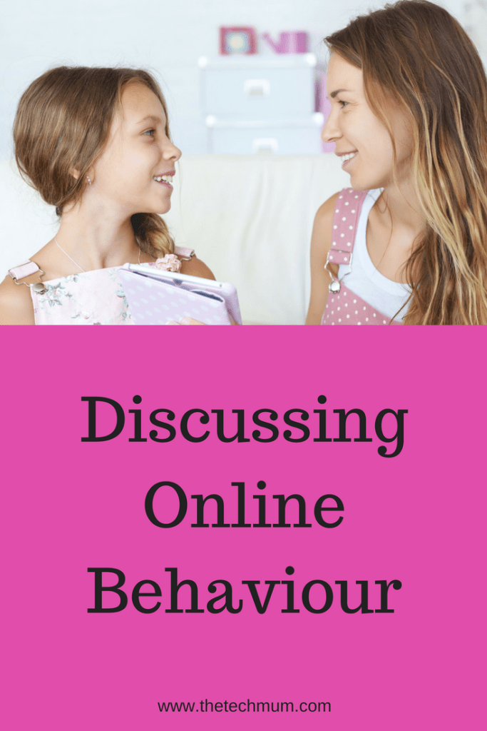 Discussing Online Behaviour with Kids