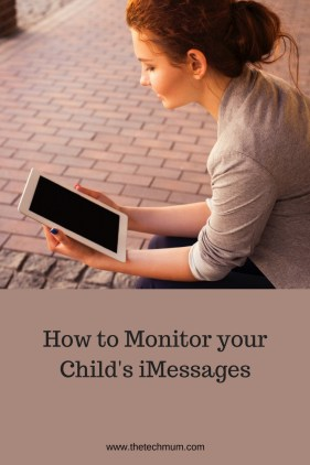 How to monitor your child's imessages