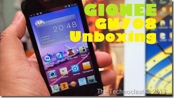 gioneegn708unboxing