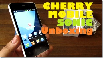 cherrymobilesonicunboxing