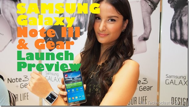 samsunggalaxynote3andgearlaunchpreview