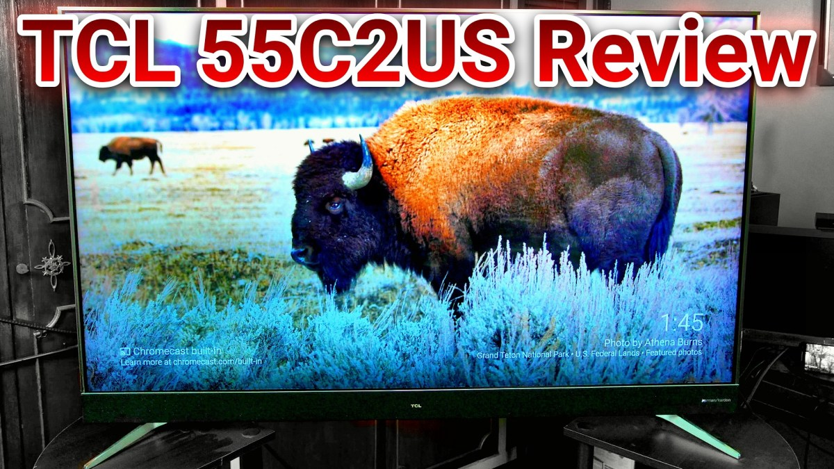 "TCL 55C2US / U55C7006 55"" 4K HDR TV Review"
