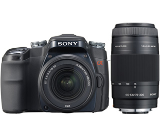 Sony Alpha 100 reviewed in The Technofile by MC Rebbe the Rapping Rabbi