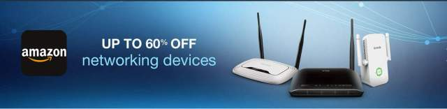 amazon deals on networking