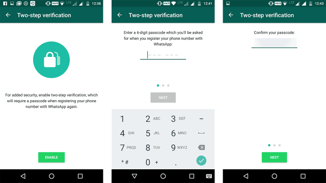 how to enable whatsapp two step verification the tech toys