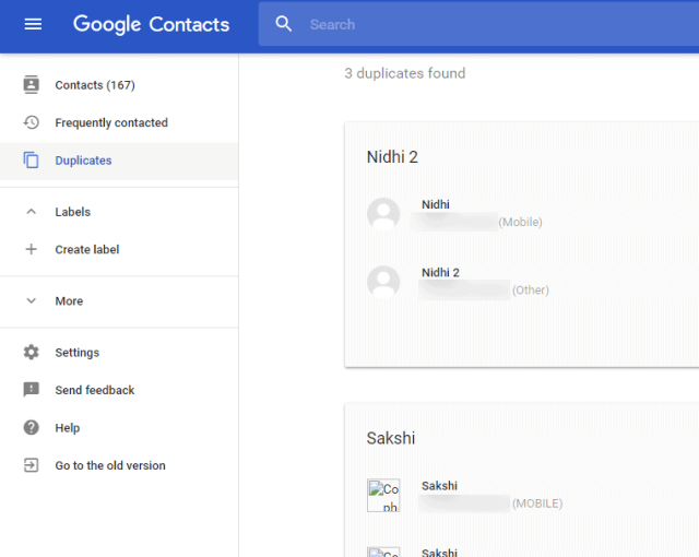 android duplicate contacts