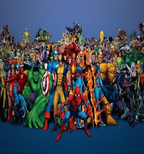 Top 10 Marvel Heroes