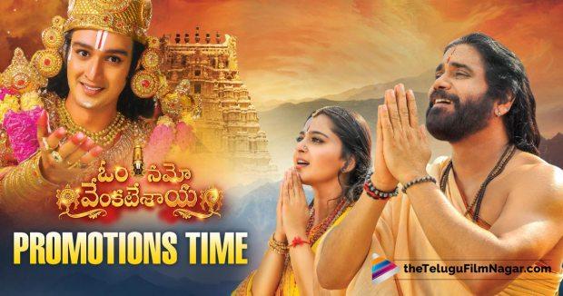 Nagarjuna's Om Namo Venkatesaya Kick Starts it's Promotions