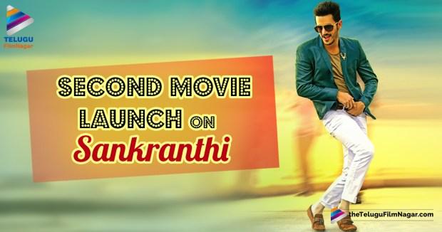 Akhil Second Movie Launch,Akhil Second Movie