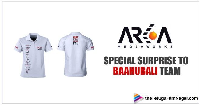 Baahubali Movie Updates,special surprise to baahubali Team