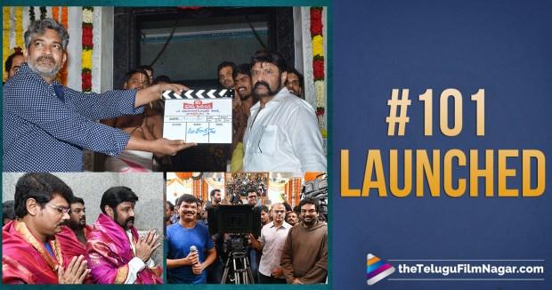 Balakrishna 101st Film Launched