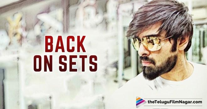 Ram Back On Sets