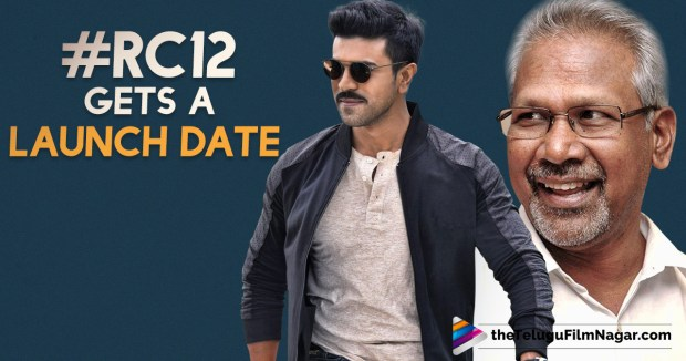 Ram Charan And Mani Ratnam's Film Gets A Launch Date