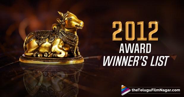 2012 Nandi Awards Winners List