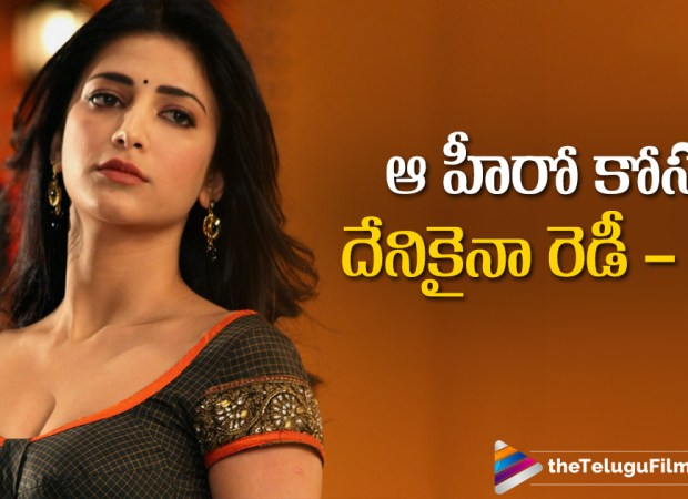 Shruti is ready to Work with Allu Arjun Again