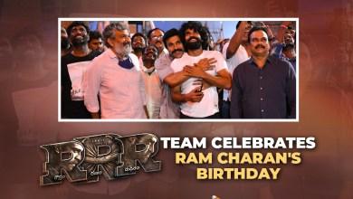RRR Movie Team Celebrates Ram Charan's Birth Day
