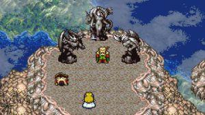 In game footage of Kefka