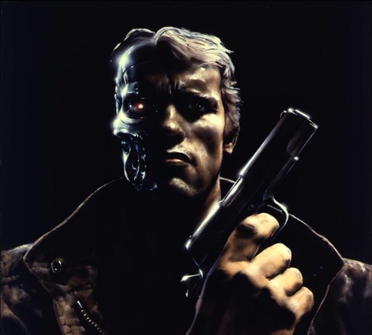 James Cameron Terminator Concept Art