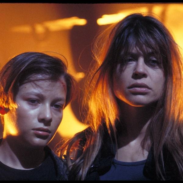 Sarah and John Connor