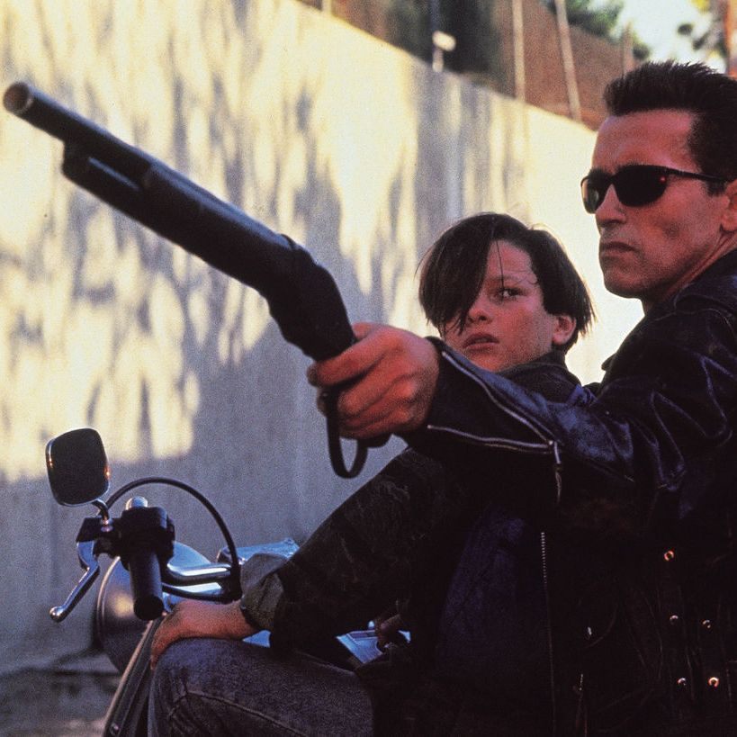 Terminator 2 Canal Chase