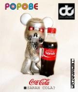 Terminator Popobe with Sarah Coca-Cola Bottle