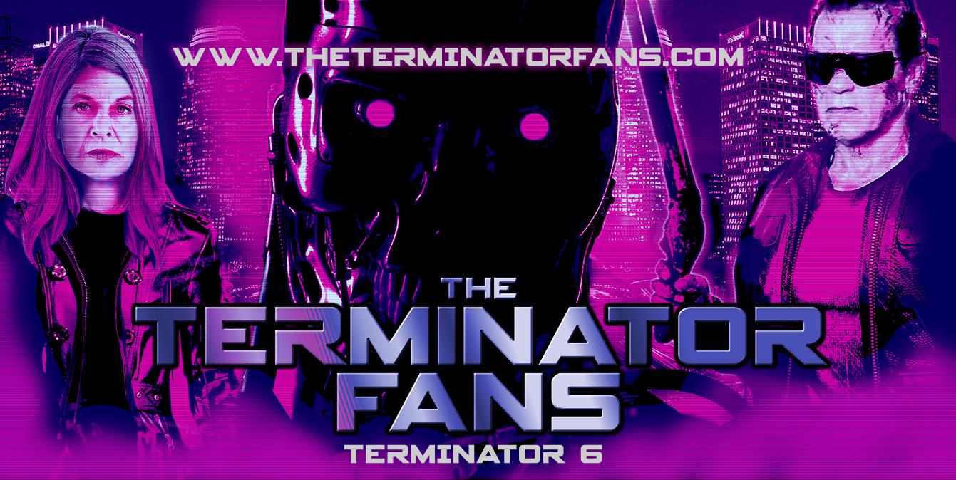 Terminator 6 Fans Poster