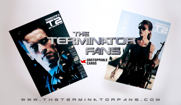 Terminator 2 Unstoppable Cards STUDIOCANAL