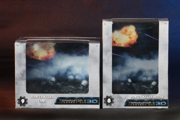 Terminator 2 3D HK Packaging Front