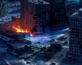 T2029 Terminator 2 Judgment Day Board Game Concept Art