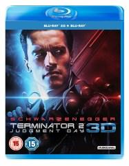 TERMINATOR 2: Judgment Day 3D Blu-Ray BD UK
