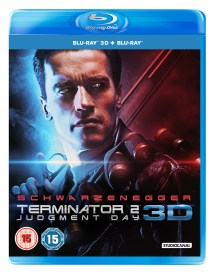 TERMINATOR 2: Judgment Day 3D Blu-Ray BD UK